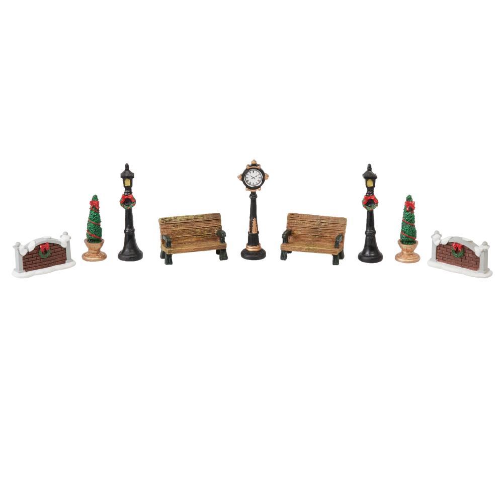 Christmas Village Accessories.Christmas Village Accessories