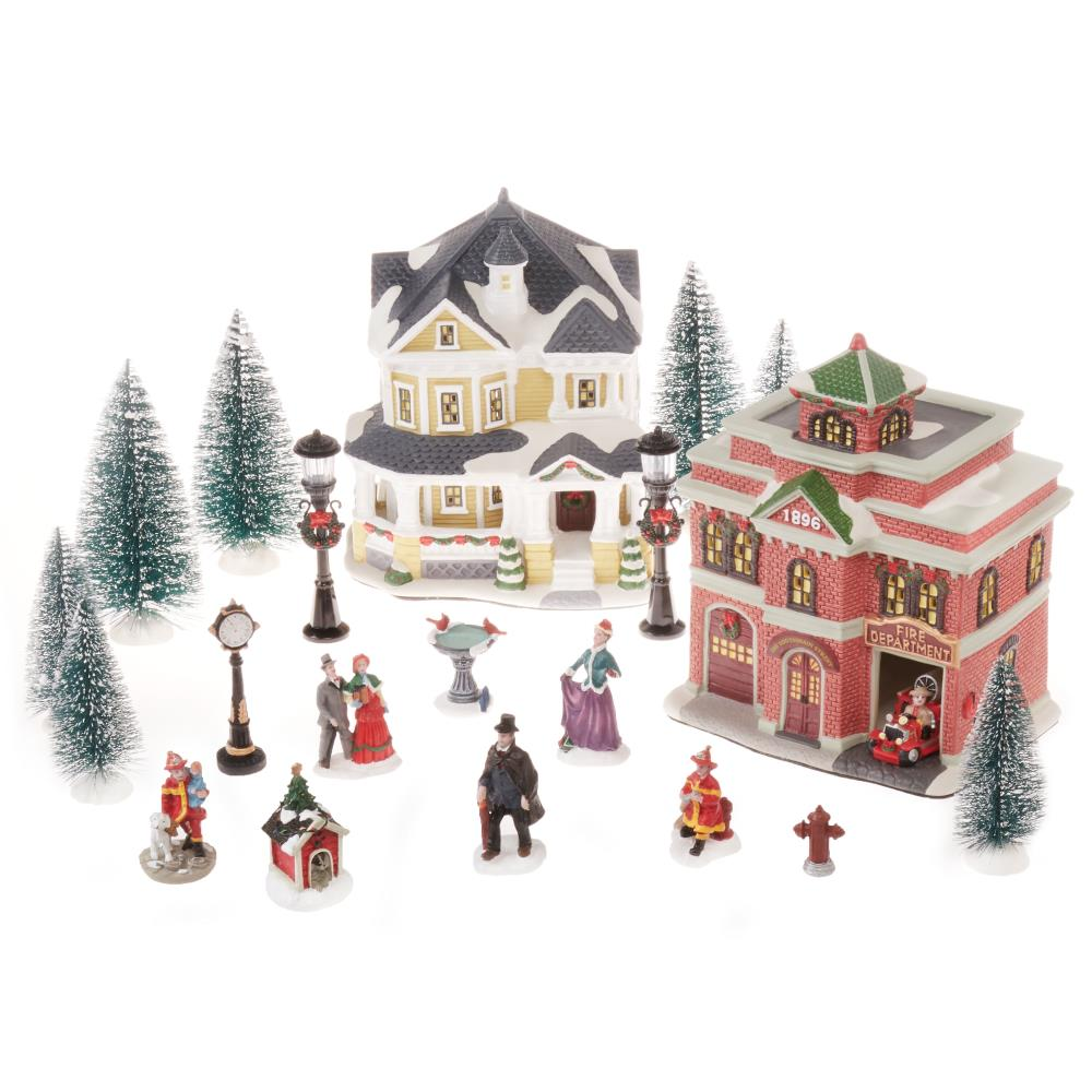 Christmas Village Display.Christmas Village Display Platforms